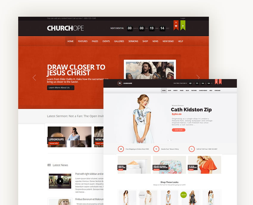 ChurcHope - Responsive WordPress Theme - TemplateInvaders